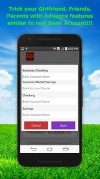 Fake Bank Account Free screenshot 12