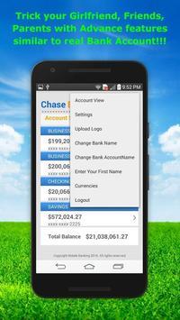 Fake Bank Account Free screenshot 13