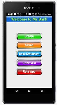 Fake Bank Account Free screenshot 1