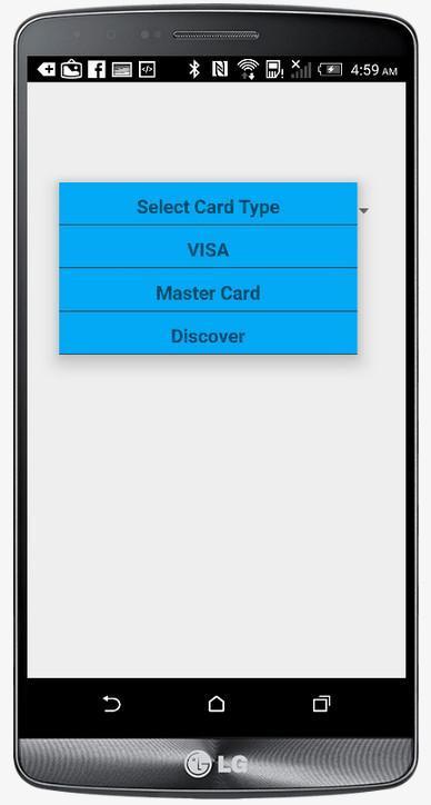 Fake transaction app