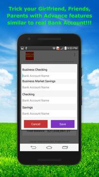 Fake Bank Account Free screenshot 8