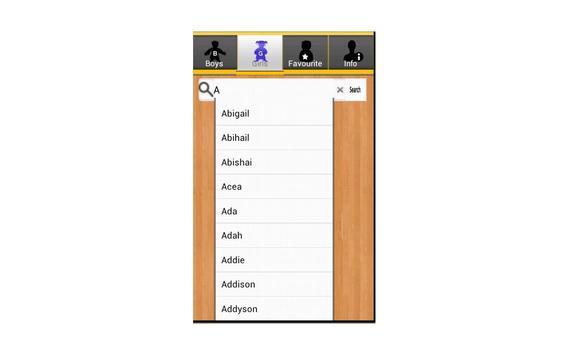 Christen Baby Names apk screenshot