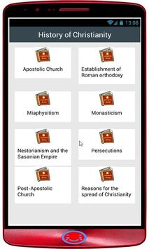 history of christianity poster