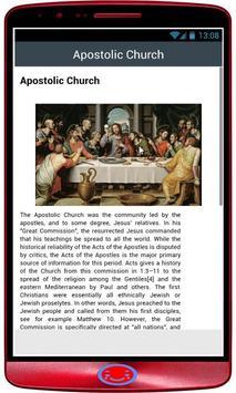 history of christianity apk screenshot