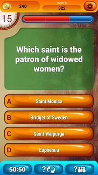 Christian Saints Quiz apk screenshot