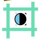 Square InstaSelf No Crop Photo icon