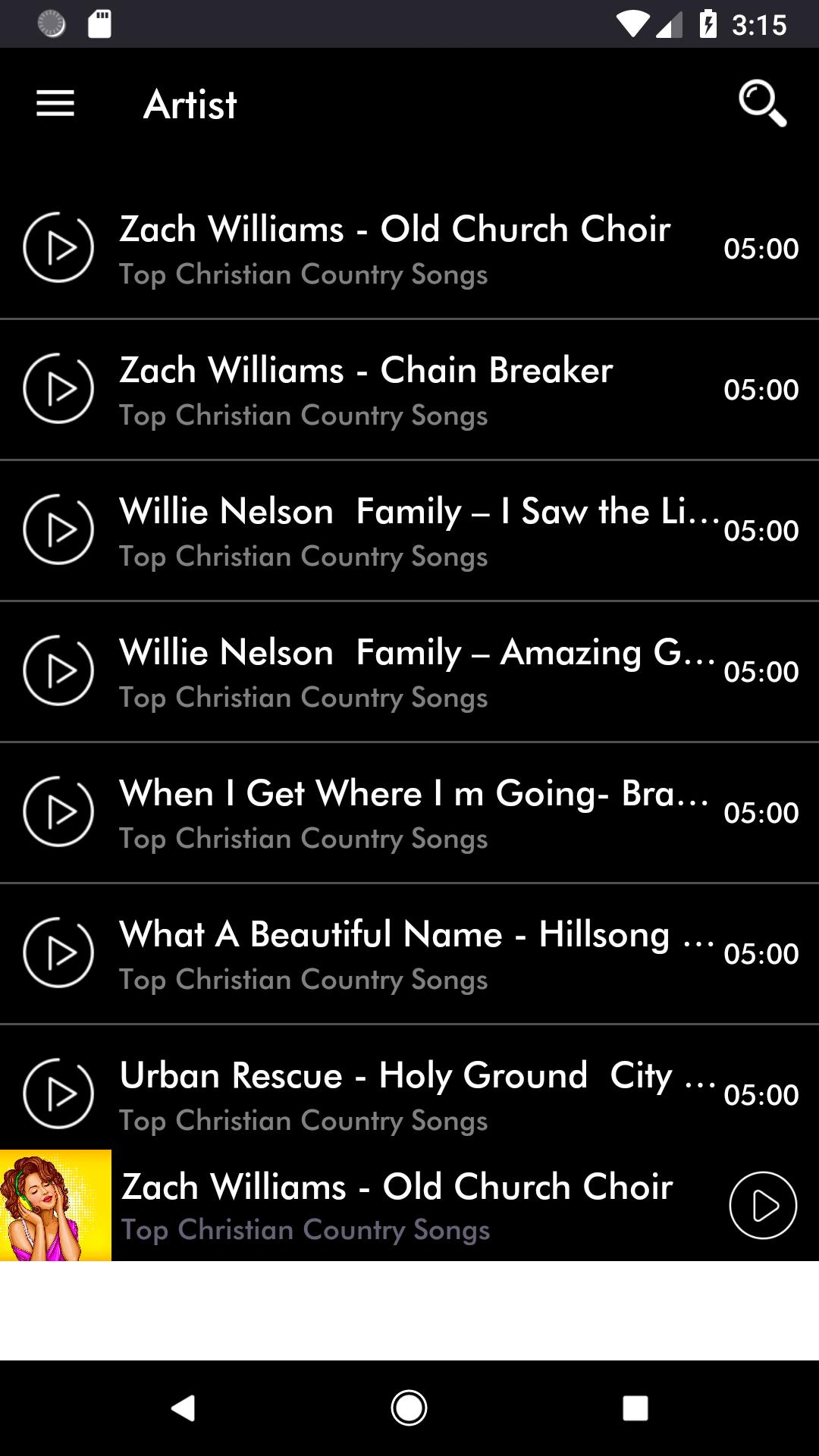 Top Christian Songs Country Hits Music Free for Android