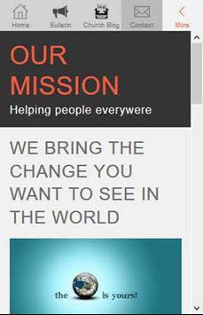 Christian Ministry App (demo) apk screenshot