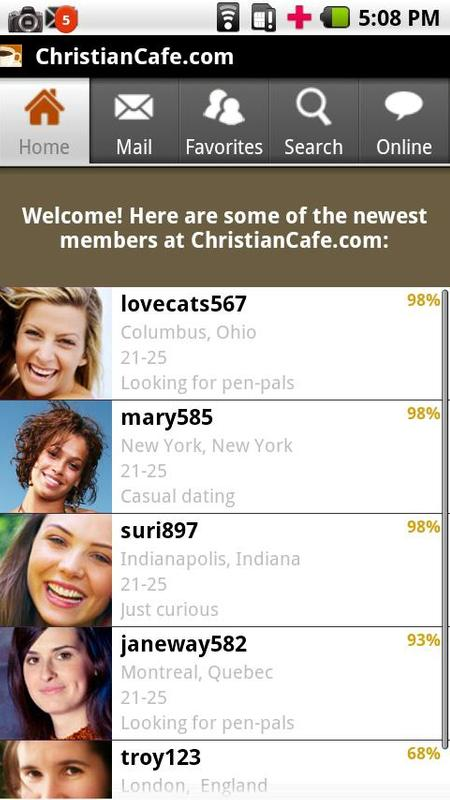 christian cafe dating site