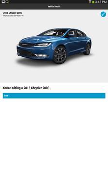 Chrysler For Owners apk screenshot