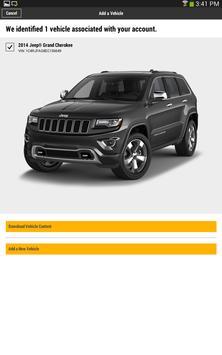 Jeep Vehicle Info apk screenshot