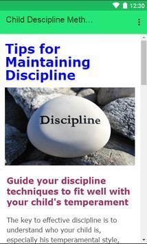 Child Descipline methodes screenshot 2