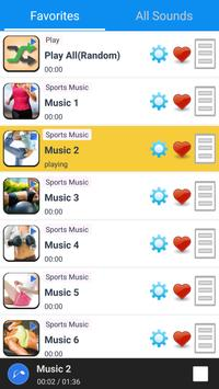 Sports Music apk screenshot