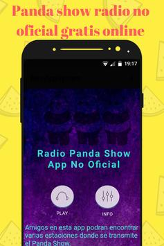 PANDA SHOW RADIO NO OFICIAL ON LINE GRATIS MEXICO poster