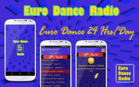 Euro Dance Radio apk imagem de tela