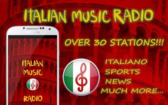 Italian Music Radio Musica Italiana poster