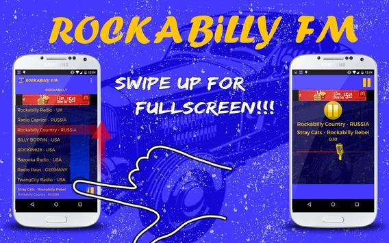 Rockabilly FM screenshot 2
