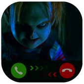 Instant Video Call Chucky: Simulation icon
