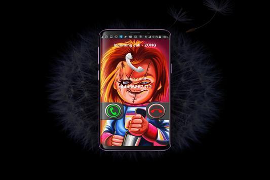 Instant Video Call Chucky: Simulation screenshot 1