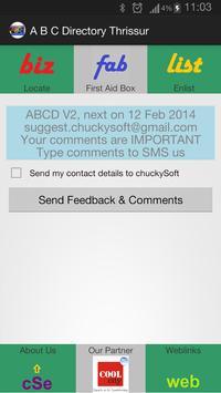 Thrissur ABC Directory V2 screenshot 2