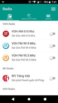 VOH Radio Material poster