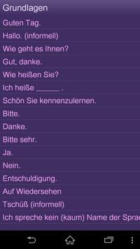 Lernen Englisch Sprachführer apk screenshot
