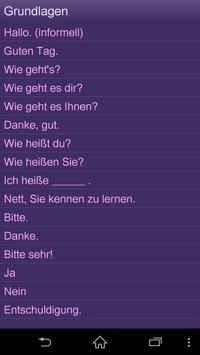 Lernen Französisc Sprachführer apk screenshot