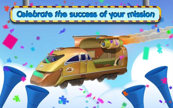 Chuggi Puzzle Train apk screenshot