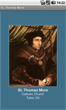 St. Thomas More poster