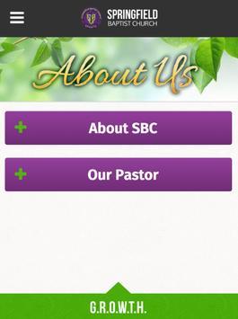 Springfield Baptist Church apk screenshot
