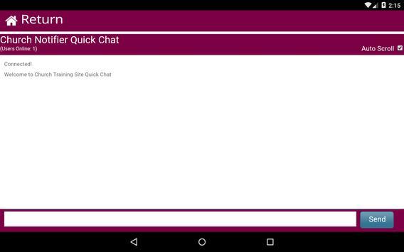 Church Notifier screenshot 14