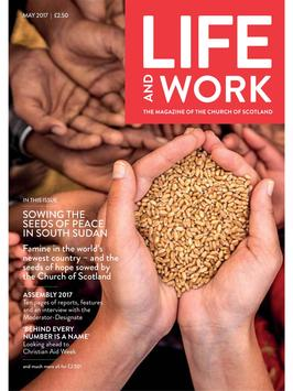 Life and Work Magazine poster