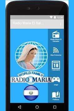 Radio Maria El Salvador App poster