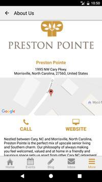 Preston Pointe Retirement apk screenshot