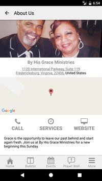 By His Grace Ministries screenshot 3