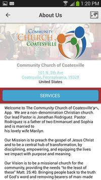 Church of Coatesville apk screenshot