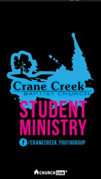 Crane Creek Youth Ministry poster