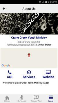 Crane Creek Youth Ministry apk screenshot