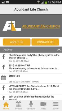 Abundant Life Ministries apk screenshot