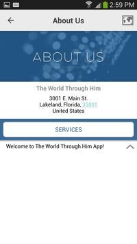The World Through Him apk screenshot