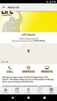 LIFE Church of Mt. Dora apk screenshot