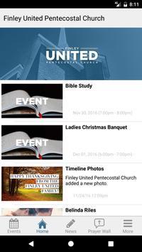 Finley United Pentecostal App apk screenshot