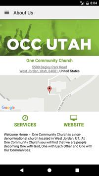 One Community Utah apk screenshot