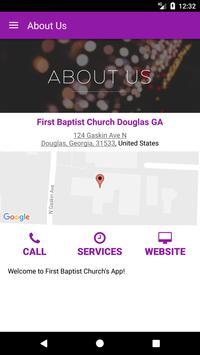 First Baptist Douglas GA screenshot 4