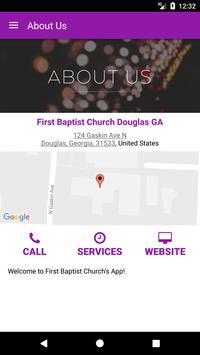 First Baptist Douglas GA screenshot 4