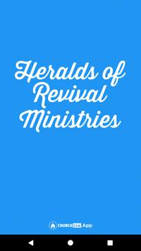 Heralds of Revival Ministries poster