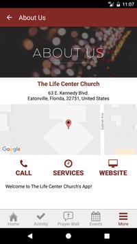 The Life Center Church apk screenshot