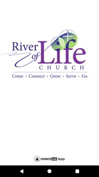 River of Life Church poster