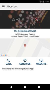 the Refreshing church screenshot 4