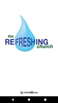 the Refreshing church poster